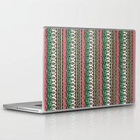 vodka Laptop & iPad Skins featuring Vodka Flow II by Jenndalyn