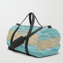 The Beach Is Calling Duffle Bag