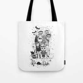Halloween toothache Tote Bag