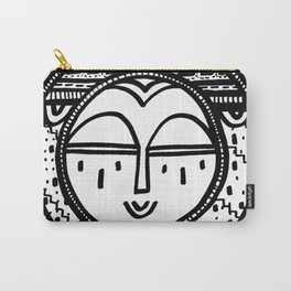 Happy People: Face 2 Carry-All Pouch