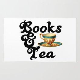 Books and Tea Rug