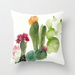 CACTUS N3 Throw Pillow