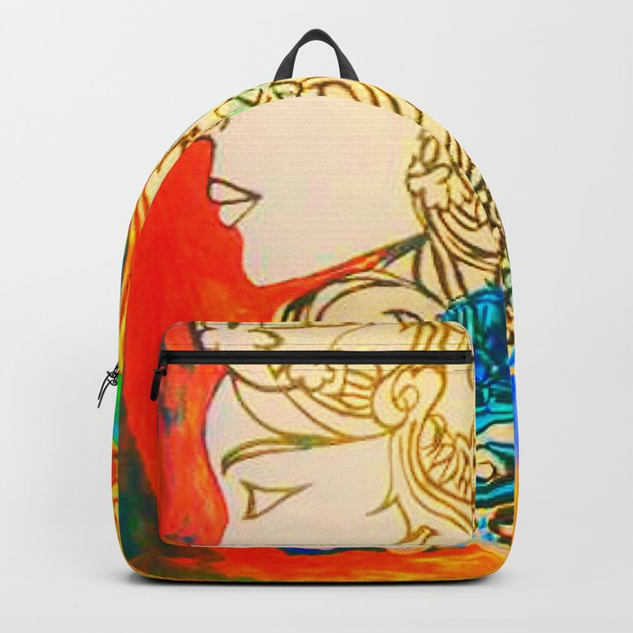 Etched in Lace #society6  #decor #buyart Backpack