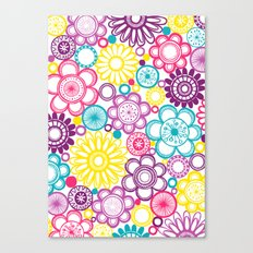 BOLD & BEAUTIFUL blooms Canvas Print