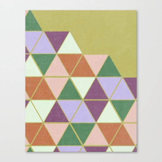 Hexaflexagon Canvas Print