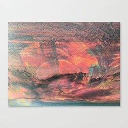 Sonnenuntergang Canvas Print
