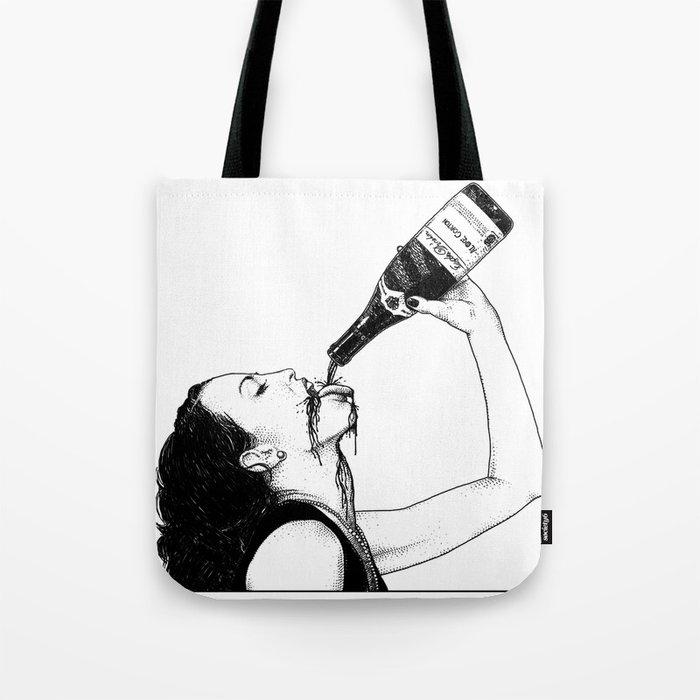asc 560 - La bouteille (My friend Aloxe) Tote Bag