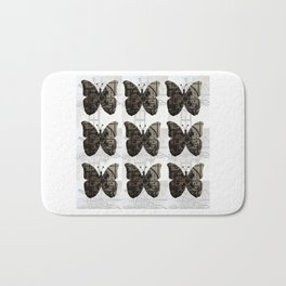 High Tech Butterflies Bath Mat
