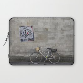 Paris Stay Strong Laptop Sleeve