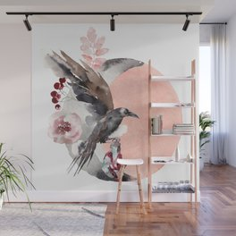 Visions Of Crystal Eyed Ravens Wall Mural