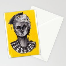 Seen in Yellow Stationery Cards