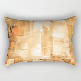 bright canyon wall Rectangular Pillow