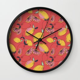 Joy (Orange) Wall Clock
