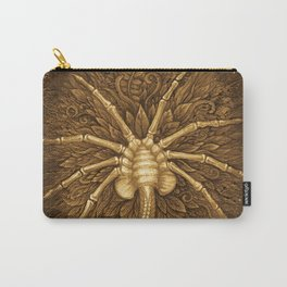 Facehugger (Sepia) Carry-All Pouch