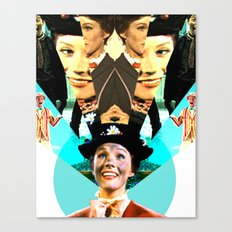 Molly Poppins Canvas Print