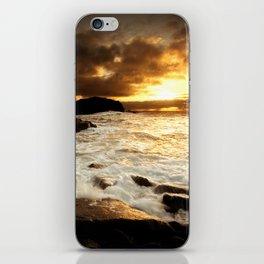 Darkened Shores iPhone Skin