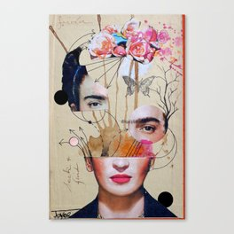 FRIDA FOR BEGINNERS Canvas Print