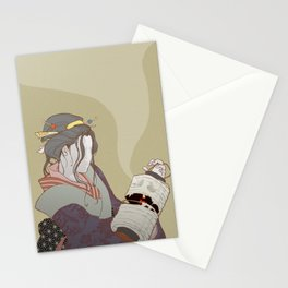 The Faceless Ghost_Light Stationery Cards