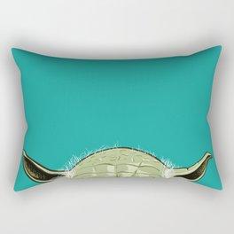 SHORTYoda [Blue] Rectangular Pillow
