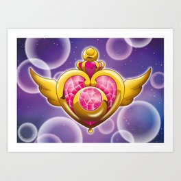 Sailor Moon - Crisis Moon Art Print