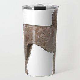 Elegant Poodle Travel Mug