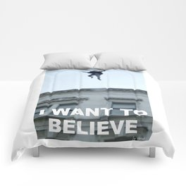 I Want to Believe in Sherlock Holmes Comforters