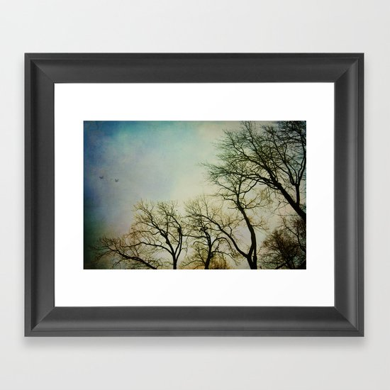 Gone with the wind Framed Art Print
