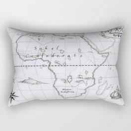 2062: African map Rectangular Pillow