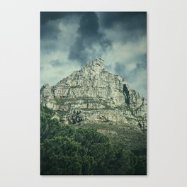 The Moody Mountain Canvas Print