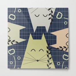 A few happy cats Metal Print