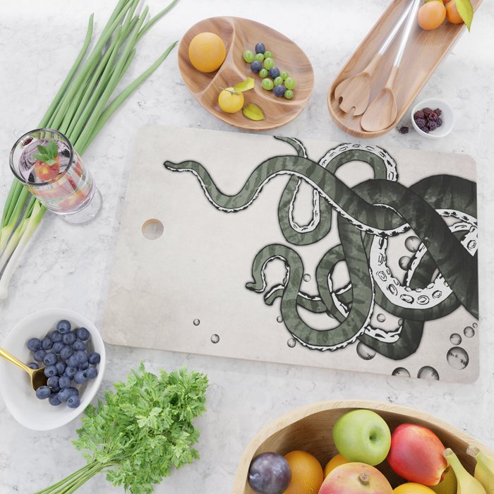 Octopus Tentacles Cutting Board