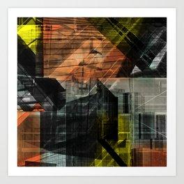 Deeper Heights 3 Art Print