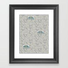 Butterfly's Journey II Framed Art Print