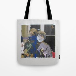 And Then Three Came Along Tote Bag