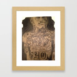Show Me Framed Art Print