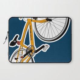 his favorite bike - indigo Laptop Sleeve