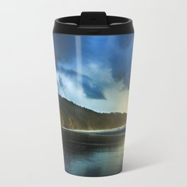 Cape Lookout Thunderstorm at Sunset Travel Mug