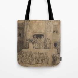 Christ Presented to the People Tote Bag