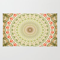 carnival Area & Throw Rugs featuring Carnival by Jane Lacey Smith