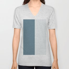 Parable to Behr Blueprint Color of the Year and Accent Colors Vertical Stripes 14 Unisex V-Neck