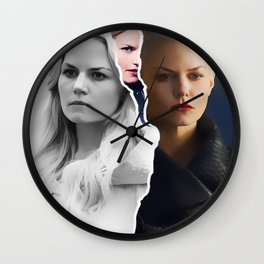 DARK SWAN / LIGHT SWAN Wall Clock