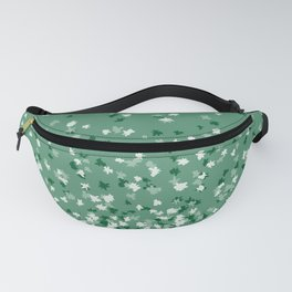 Floating Confetti Dots - Evergreen Fanny Pack