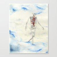 titan Canvas Prints featuring Titan by Sandra Grippi