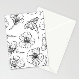 Nasturtiums (Inverted) Stationery Cards