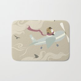 Finally Flying Bath Mat