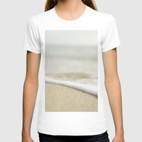 andreas preis T-shirts featuring Sand and Surf by Pure Nature Photos