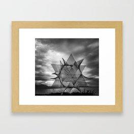 Outer World Framed Art Print