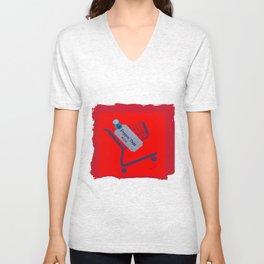 Poppin Tags-Thrift Shop Song-Macklemore Unisex V-Neck