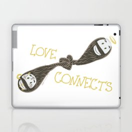 Love Connects Laptop & iPad Skin