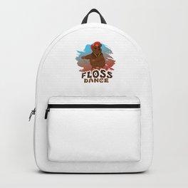 Floss Dance Move Bear Backpack